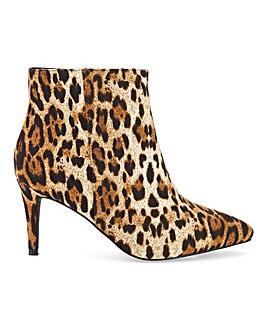 Raid Lara Kitten Heel Boots Extra Wide EEE Fit