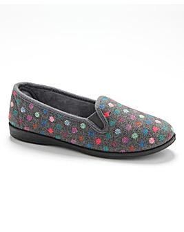 R&R Zoe Twin Gusset Slippers