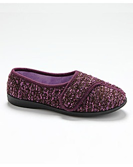 R&R Amelia Touch And Close Slippers