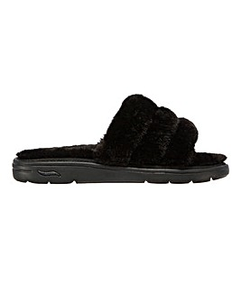Skechers Arch Fit Lounge Fur Slippers D Fit