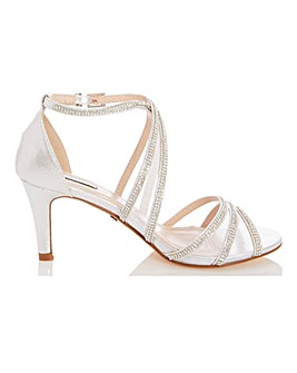 Quiz Mesh Buckle Occasion Shoes