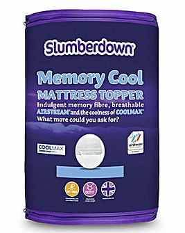 Slumberdown Memory Cool Mattress Topper
