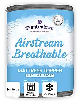 Slumberdown Airstream Breathable Mattress Topper