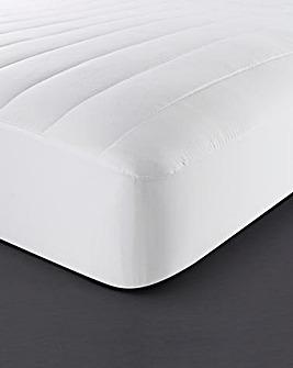At Home Collection Like Down Anti-Dustmite Quilted Mattress Topper