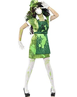 Halloween Biohazard Lady + Stockings