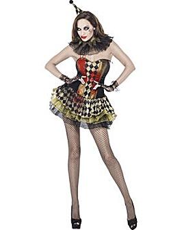 Halloween Ladies Creepy Zombie  Clown
