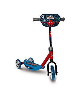 Spiderman Three Wheel Scooter
