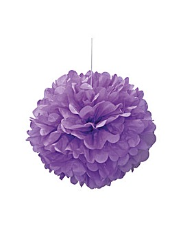 "Paper Decorations Puff Balls 16"" x 3"