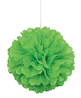 "Paper Decorations Puff Ball Decoration 16"" x 3"