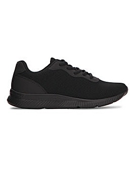 Lace Up Trainer EEE Ft