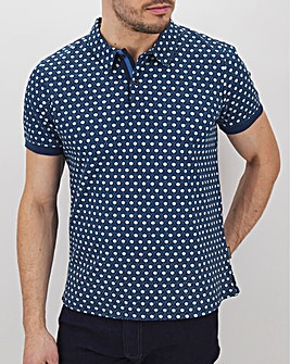 Peter Werth Geo Print Polo