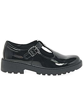 Geox Junior Casey T-Bar Girls Shoes