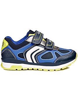 Geox Pavel Boys Junior Rip Tape Trainers