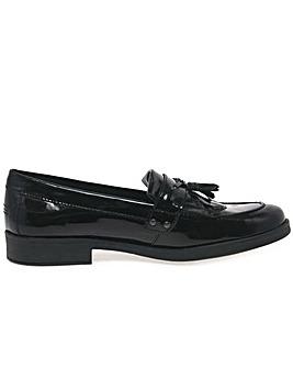 Geox Agata Tassle Girls School Shoes