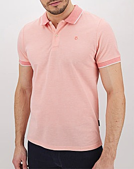 Peter Werth Contrast Collar Polo Long