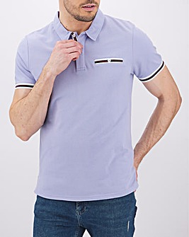 Peter Werth Pocket Detail Polo Long