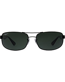Ray-Ban Metal Rectangle Sunglasses