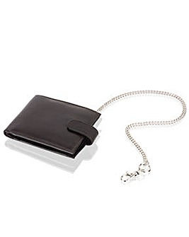 Woodland Leather Key Chain Wallet