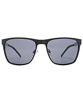 Polaroid Metal Square Sunglasses