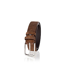 Woodland Leather Suede Belt
