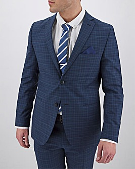 Peter Werth Blue Checked Suit Jacket