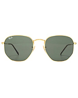 Ray-Ban Hexagonal Flat Lens Sunglasses