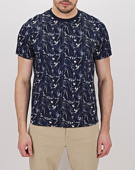 Peter Werth Tropical Print T-Shirt