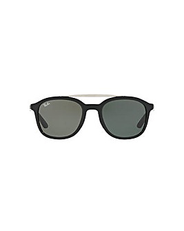 Ray-Ban Square Double Bridge Sunglasses