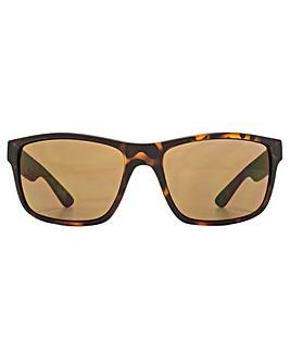 FCUK Sporty Rectangle Sunglasses