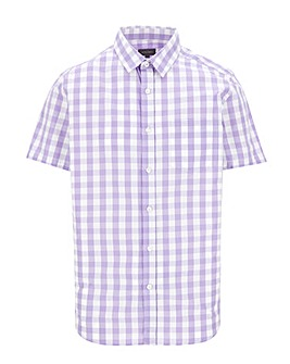 Peter Werth Gingham Shirt Long