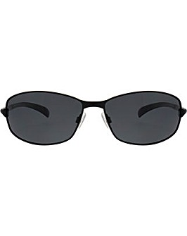 Polaroid Metal Wrap Sunglasses