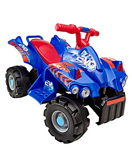 Evo Quad Blue Ride On