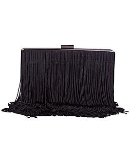 Claudia Canova Tassel Fringed Clutch Bag