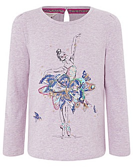 Monsoon Bo Ballerina Top