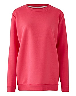 Pink Basic Sweatshirt