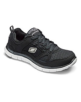 Skechers Flex Appeal Trainers Wide Fit