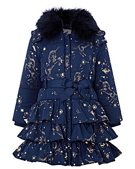 Monsoon Gemini Unicorn Padded Coat
