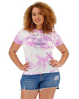 Malibu Lagoon Slogan T-Shirt