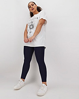 Full Length Stretch Leggings Short