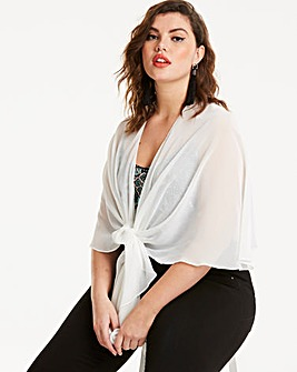 Joanna Hope Ivory Multi-way Shrug