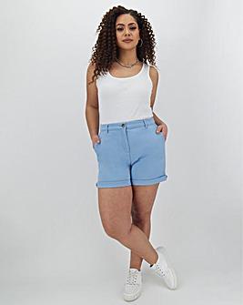 Cotton Rich Stretch Chino Shorts