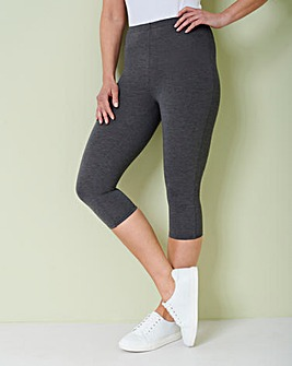 Crop Jersey Leggings
