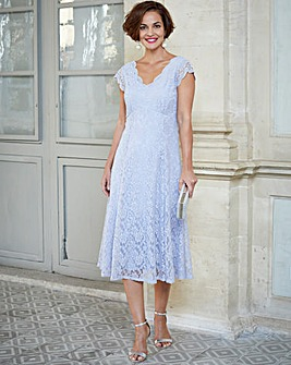 Joanna Hope Frill Maxi Lace Dress