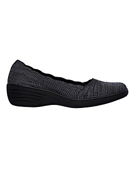 Skechers Kiss Beso Slip On Leisure Shoes Standard D Fit
