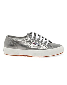 Superga 2750 Metallic Lace Up Leisure Shoes Standard D Fit