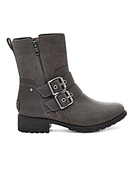 Ugg Wilde Leather and Suede Boots Standard Fit