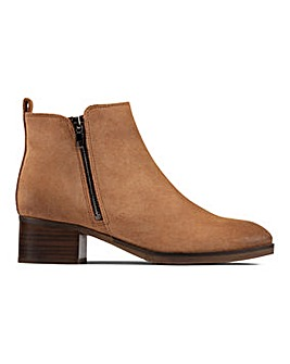 Clarks Mila Sky Ankle Boots D Fit