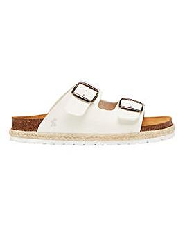 Joules Reina Footbed Sandals Standard D Fit