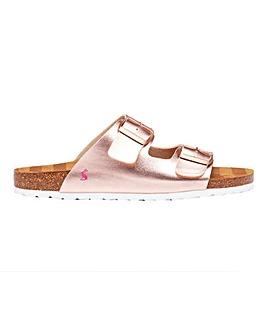 Joules Penley Footbed Sandals Standard D Fit