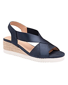 Lotus Penelope Stretch Sandals Standard D Fit